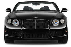 Bentley Continental GT Convertible Frontalansicht