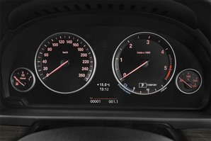 BMW 5er Touring Armaturentafel