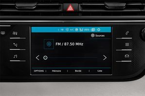 Citroen Grand C4 Picasso Audioanlage