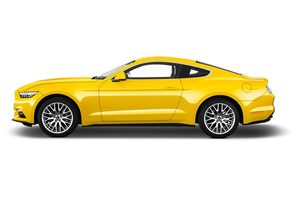 Ford Mustang Fastback Seitenansicht