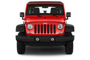 Jeep Wrangler Frontalansicht