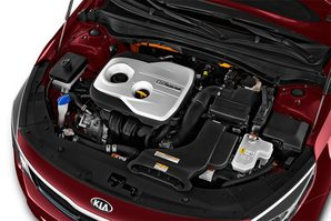KIA Optima Plug-in-Hybrid Motoransicht