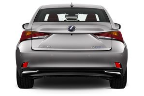 Lexus IS Hybrid Heckansicht