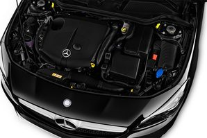 Mercedes CLA Shooting Brake Motoransicht