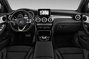 Mercedes GLC Coupé Armaturentafel