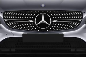 Mercedes GLC Coupé Kühlergrill