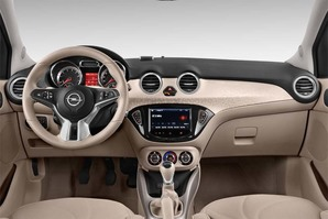 Opel Adam Open Air Armaturentafel
