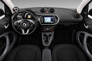 Smart fortwo coupé Armaturentafel