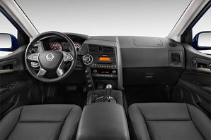 Ssangyong Actyon Sports Armaturentafel