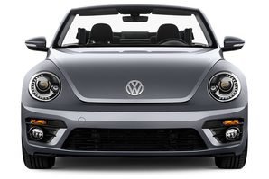 VW Beetle Cabrio Frontalansicht