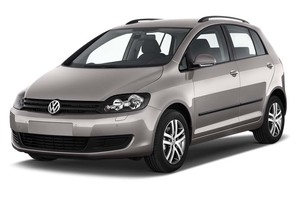 VW Golf Plus MATCH BlueMotion Technology schräge Frontalansicht