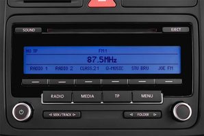 VW Golf Plus MATCH BlueMotion Technology Audioanlage
