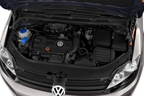 VW Golf Plus MATCH BlueMotion Technology Motoransicht