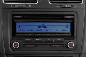 VW Golf 7 BlueMotion Audioanlage