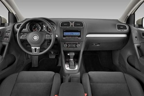 VW Golf 7 BlueMotion Armaturentafel