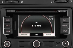 VW Golf Variant MATCH BlueMotion Technology Audioanlage