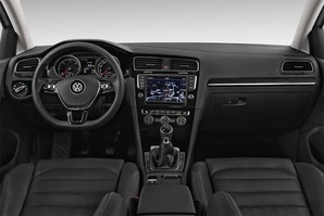 VW Golf 7 Allstar Armaturentafel