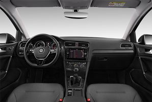 VW Golf 7 TGI Armaturentafel