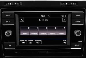 VW Golf 7 Variant Audioanlage