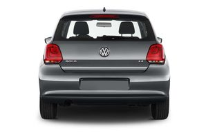 VW Polo Style Heckansicht