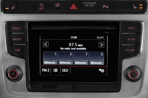 VW Polo BlueMotion Audioanlage
