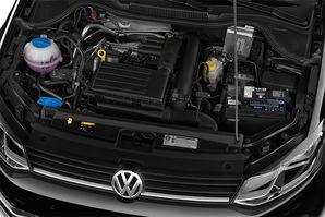 VW Polo BlueMotion Motoransicht
