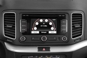VW Sharan Allstar Audioanlage