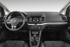 VW Sharan Allstar Armaturentafel