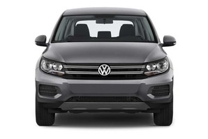 VW Tiguan (altes Modell) Frontalansicht