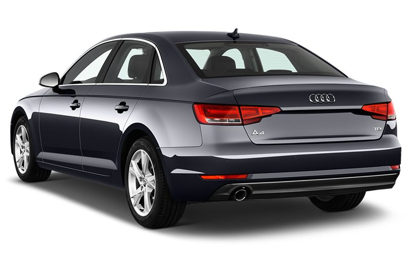 Audi A4 Limousine All-in-One-Paket (neues Modell) a4 limousine all-in-one-paket (neues modell) schräge heckansicht