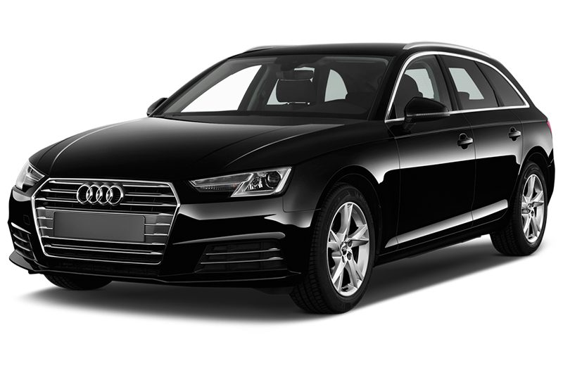 Audi A4 Avant All-in-One-Paket (neues Modell) a4 avant all-in-one-paket (neues modell) schräge frontalansicht