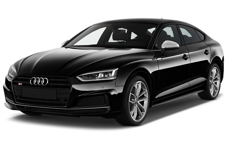 Audi S5 Sportback All-in-One-Paket s5 sportback all-in-one-paket schräge frontalansicht