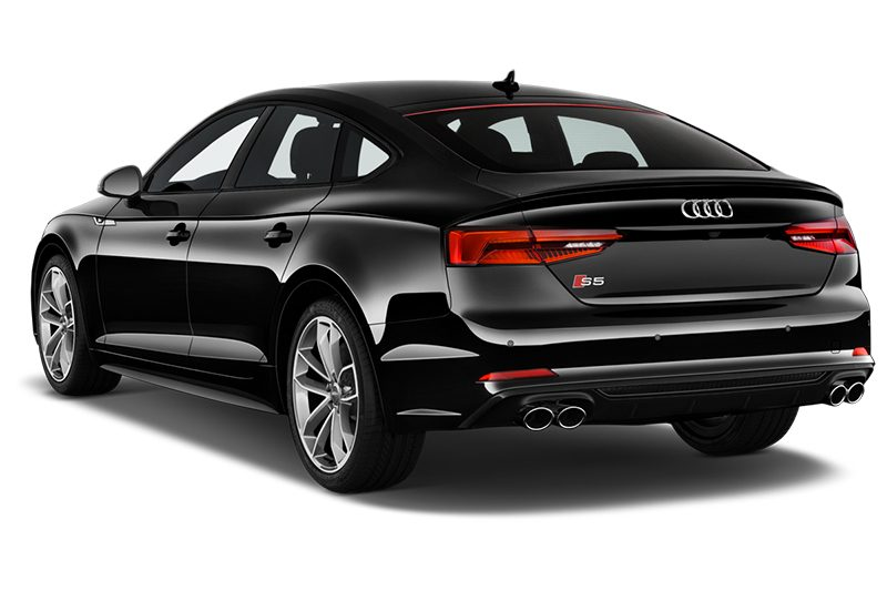 Audi S5 Sportback All-in-One-Paket s5 sportback all-in-one-paket schräge heckansicht
