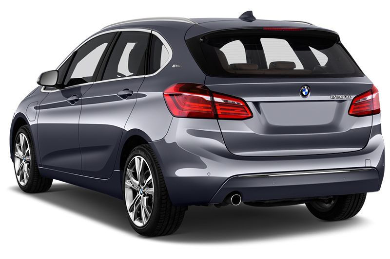 BMW 2er Active Tourer Plug-in-Hybrid 2er active tourer plug-in-hybrid schräge heckansicht