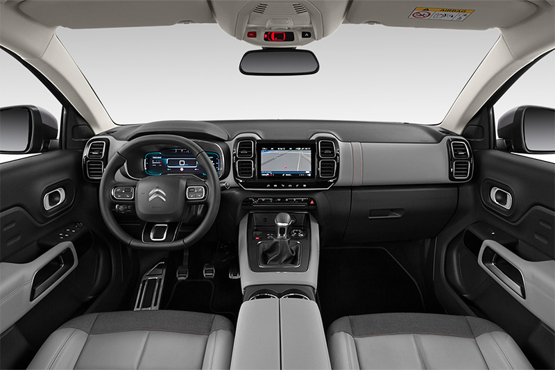 c5 aircross plug-in-hybrid armaturentafel