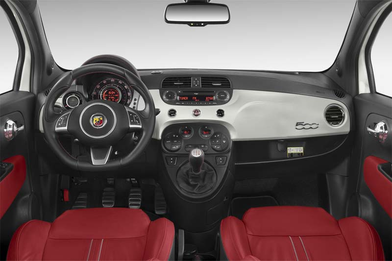 500 abarth armaturentafel