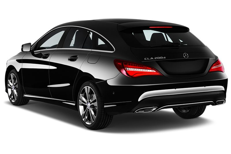 Mercedes CLA Shooting Brake cla shooting brake schräge heckansicht