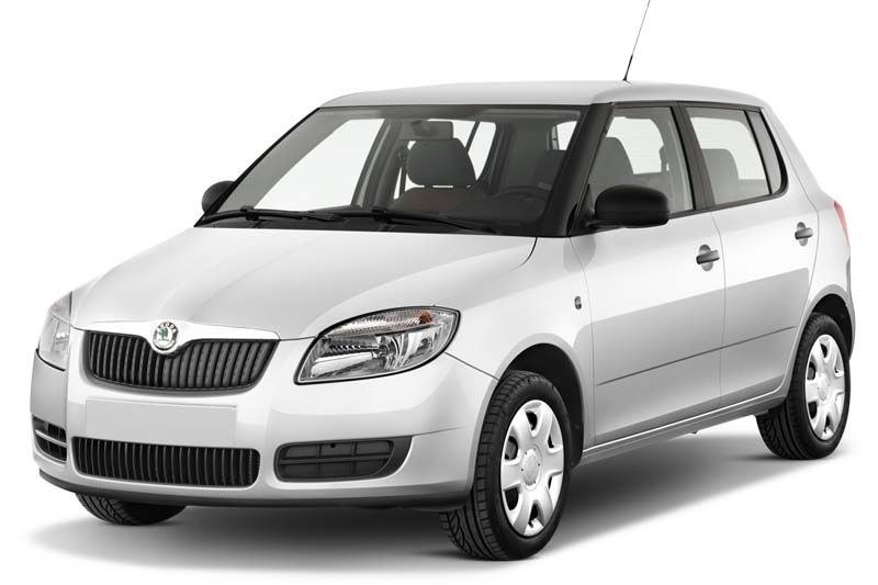 Skoda Fabia Limousine Cool Edition Sondermodell fabia limousine cool edition sondermodell schräge frontalansicht