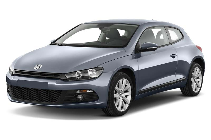 scirocco match bluemotion technology schräge frontalansicht