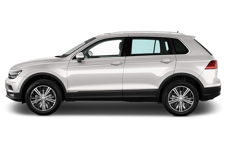 tiguan all-in-one-paket seitenansicht