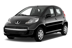 Peugeot 107 Black and Silver Edition